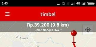 taksi online di lampung cara pesan timbel
